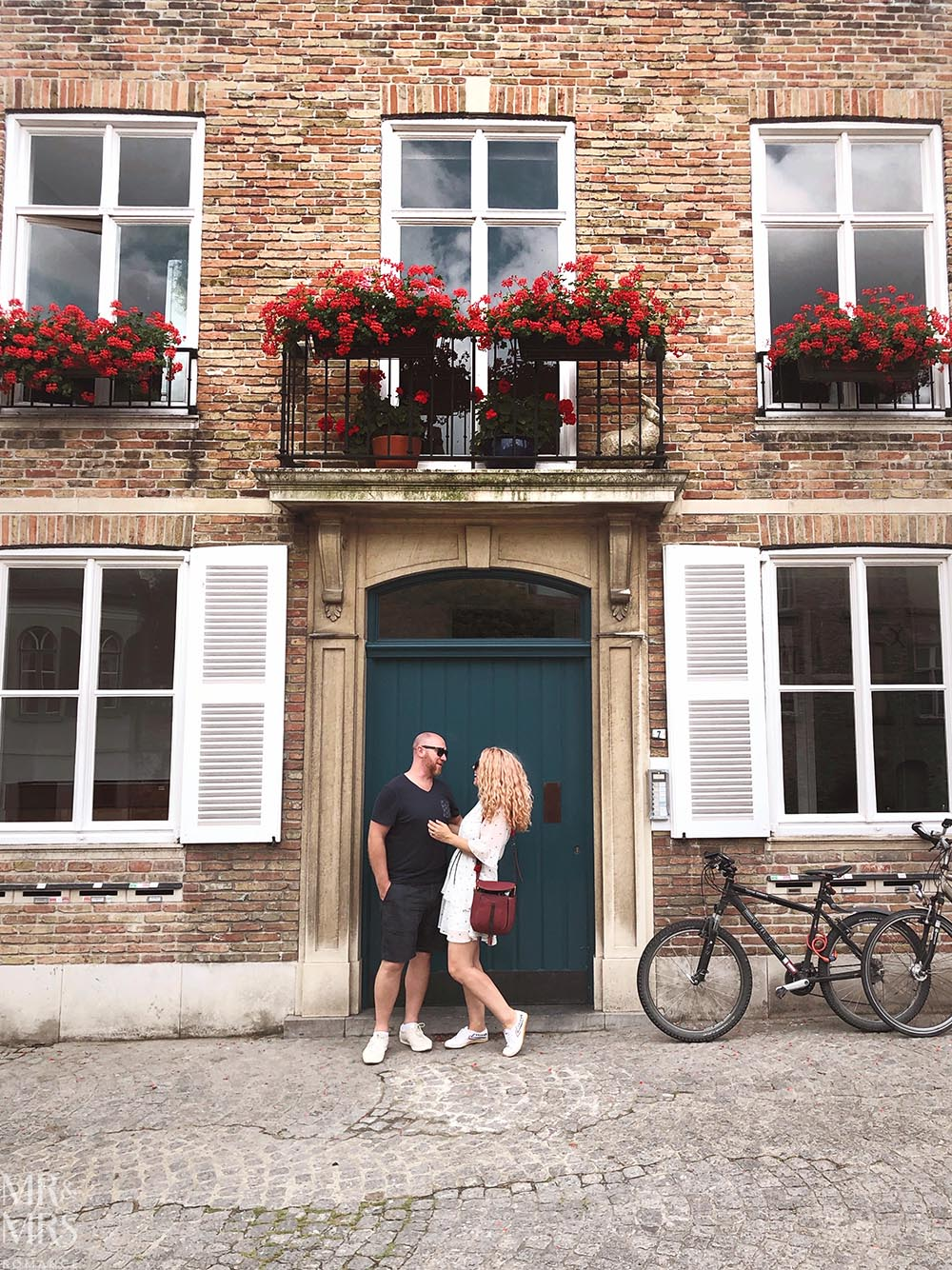 Postcards from Bruges, Belgium - us
