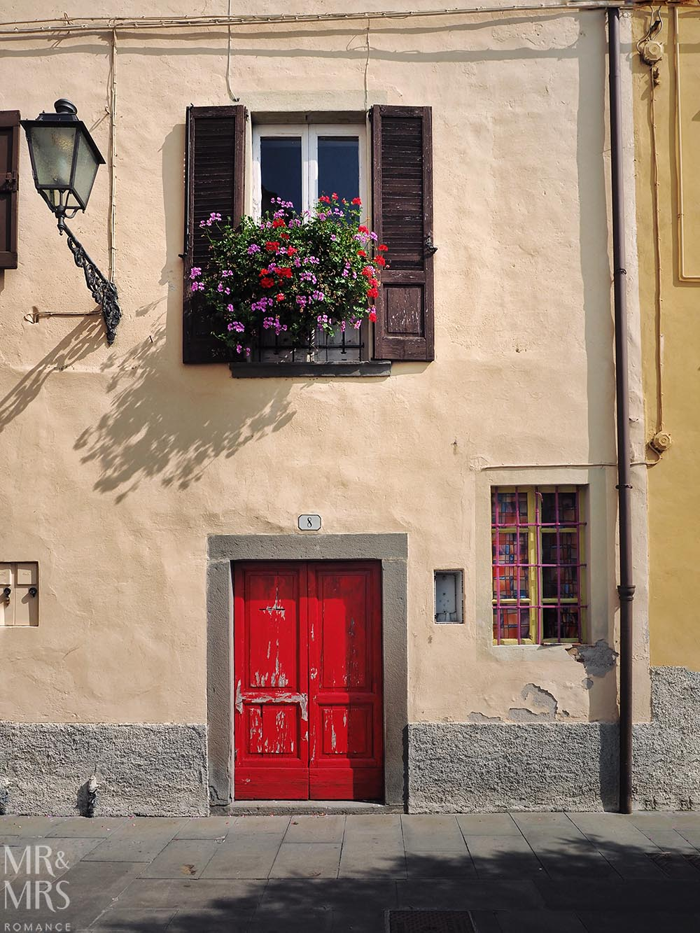 Monte Isola, Lake Iseo, Italy - red door