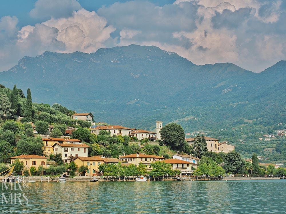 Monte Isola, Lake Iseo, Italy - Sulzano
