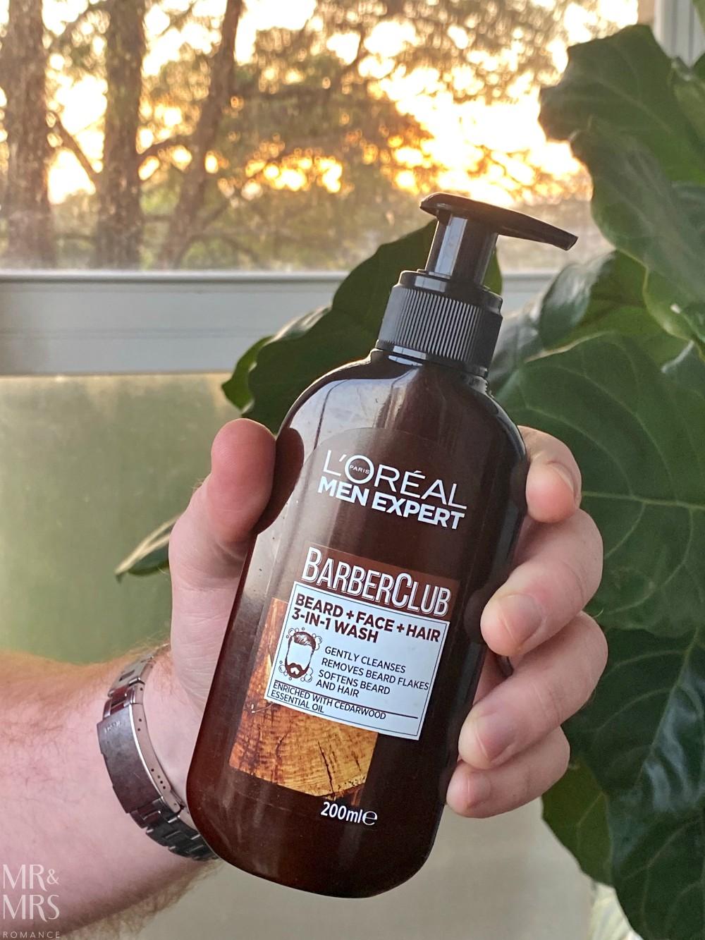 L'Oreal Men Expert BarberClub face wash