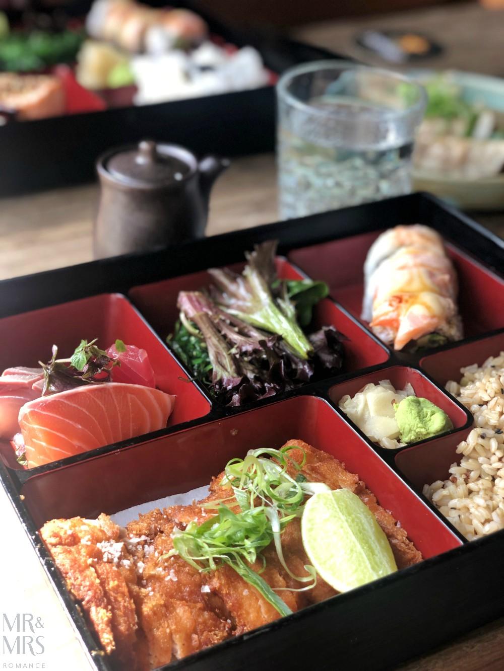 Zushi lunch Barangaroo