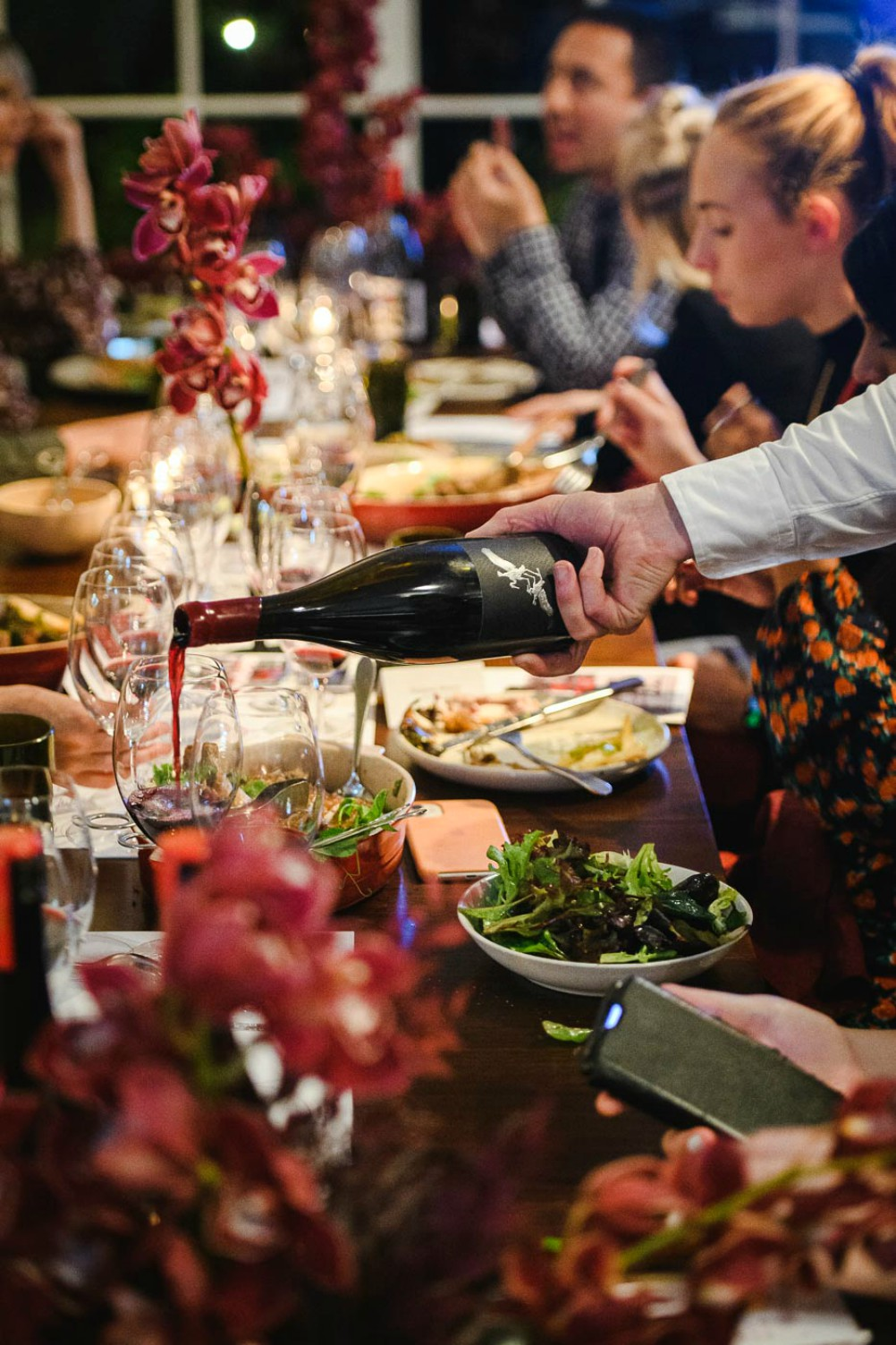 The Group Grower-Owned Collective wines - dinner at the Chiswick