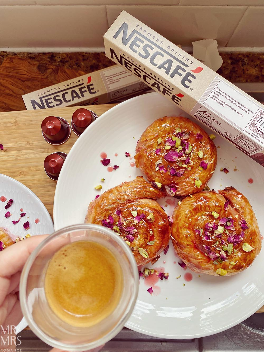 North African pastry recipe - Nescafe capsule coffee