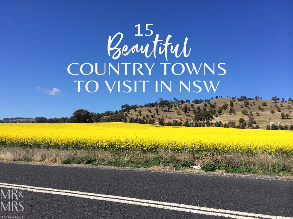 Beautiful country towns to visit in NSW