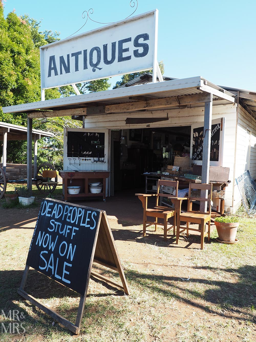 NSW country towns to visit - Newrybar Antiques