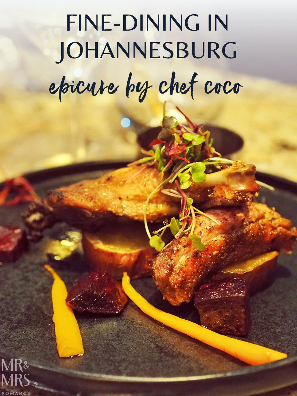 Where to eat in Johannesburg South Africa - fine-dining at Epicure by Chef Coco