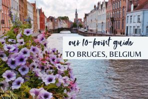 10 things to see, do and eat in Bruges, Belgium
