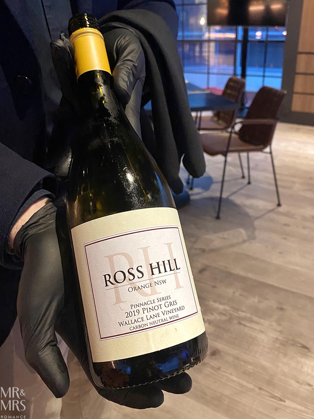 Where to eat in Sydney Amber Restaurant - Ross Hill Wines