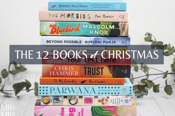 12 books of Christmas gift ideas