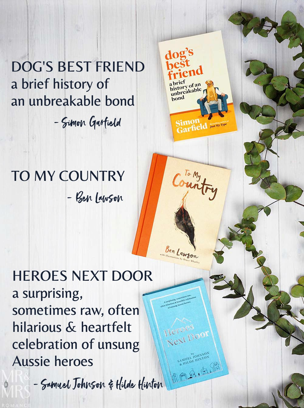 12 books of Christmas gift ideas - heartwarmers