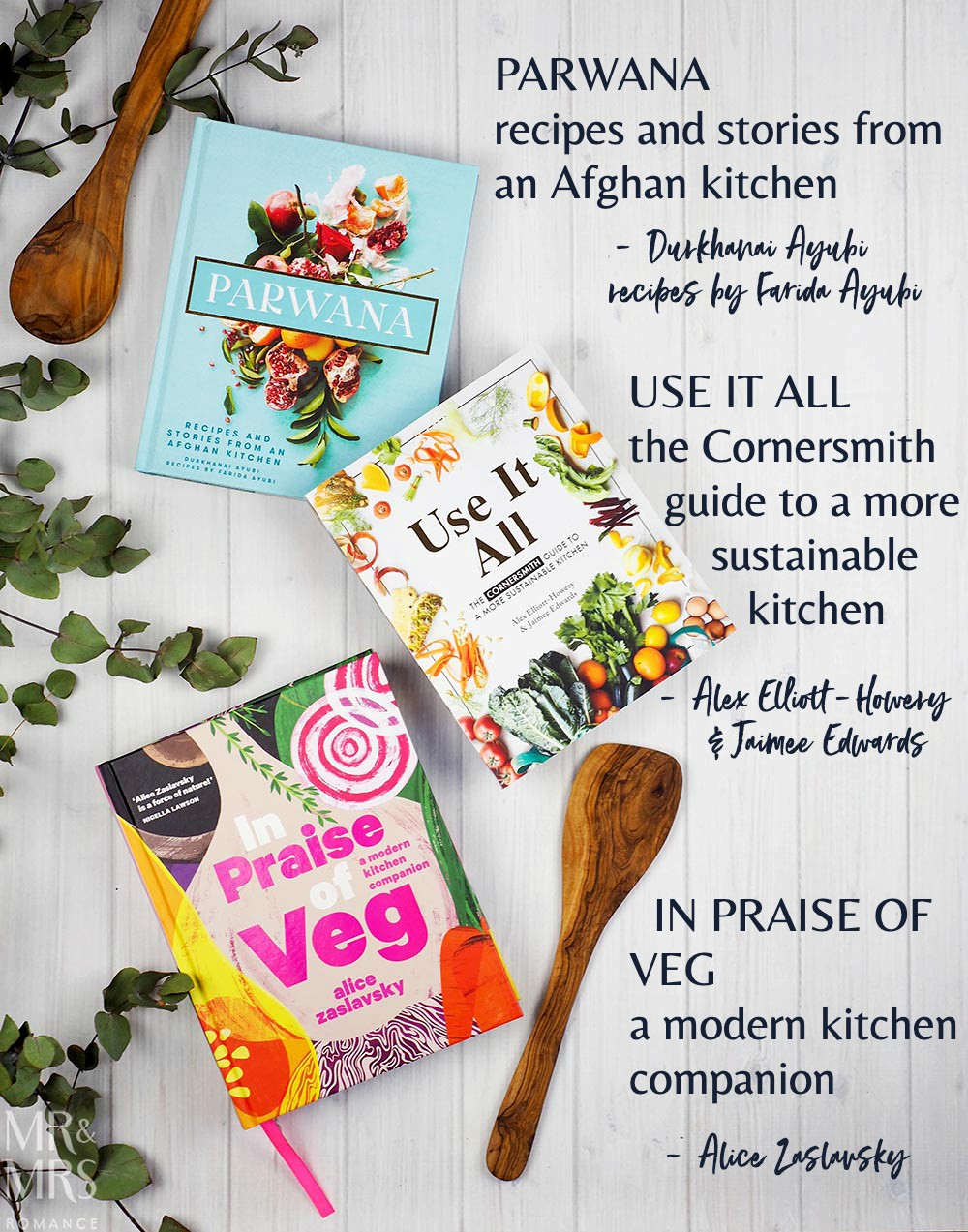 12 books of Christmas gift ideas - cooking and life