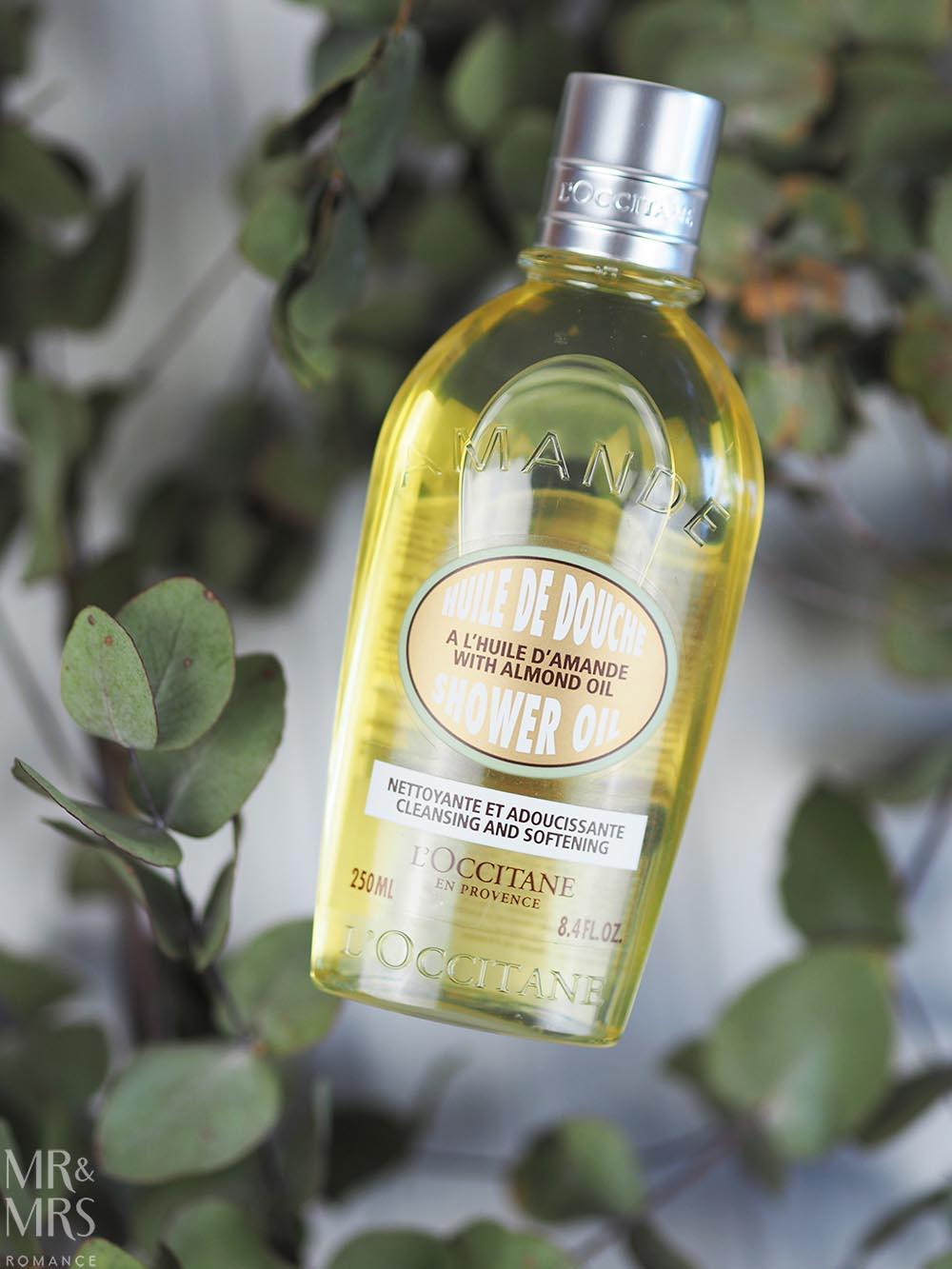 L'Occitane almond oil shower oil - Cosmetics gift ideas