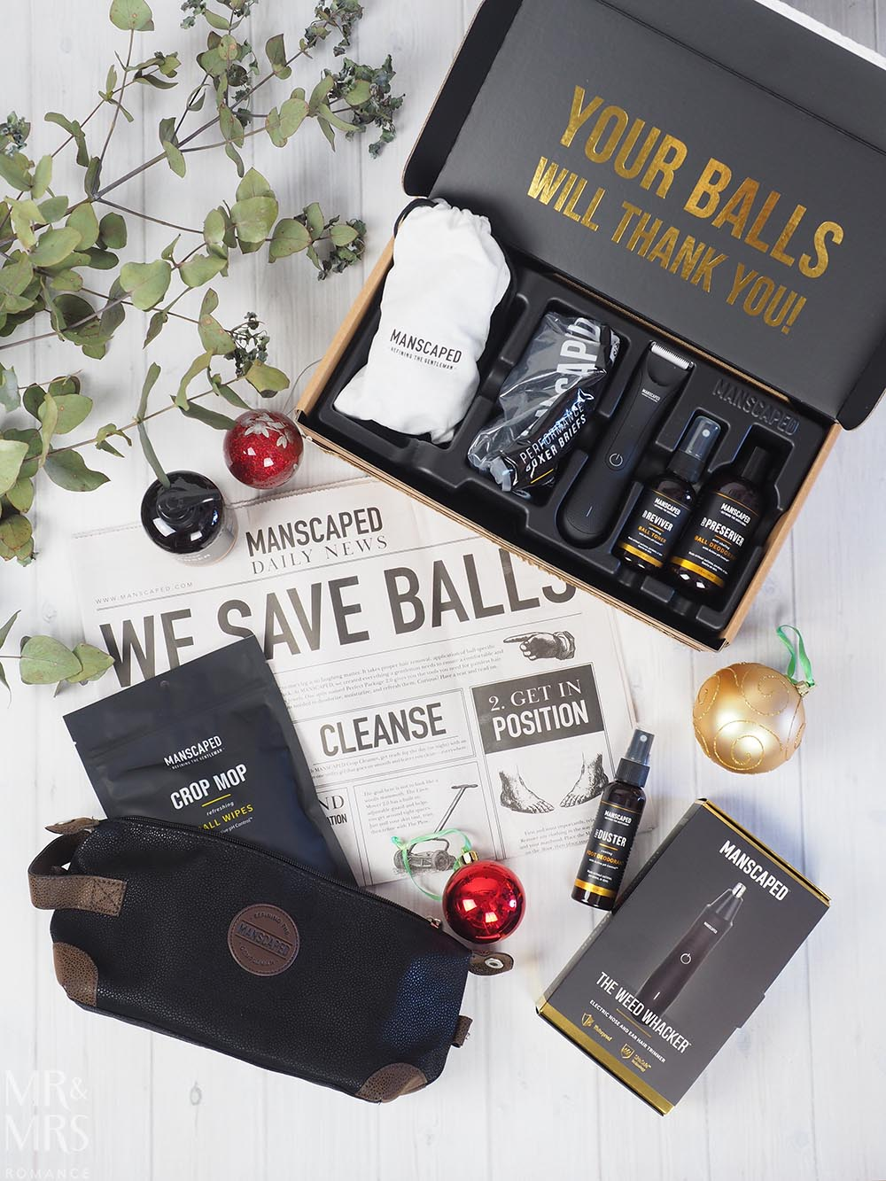 Manscaped Performance Package - Cosmetics gift ideas