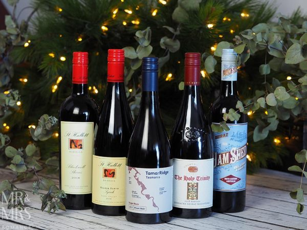 Christmas drinks gift guide - 5 big Aussie reds