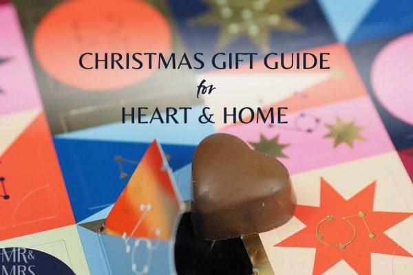 Christmas gift guide homewares and food