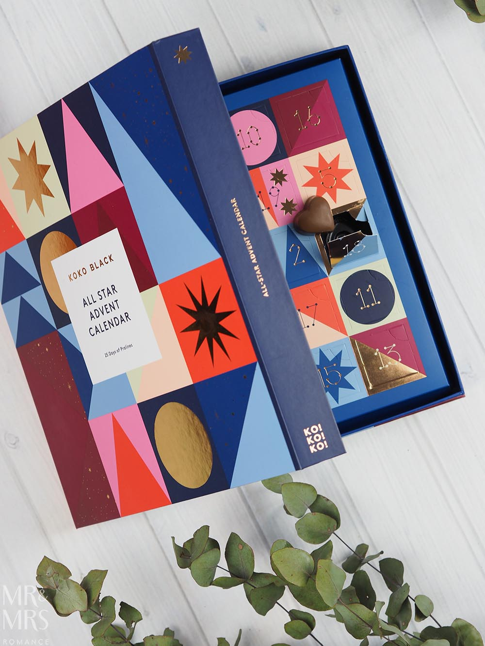 Christmas gift guide homewares and food - Koko Black chocolate advent calendar