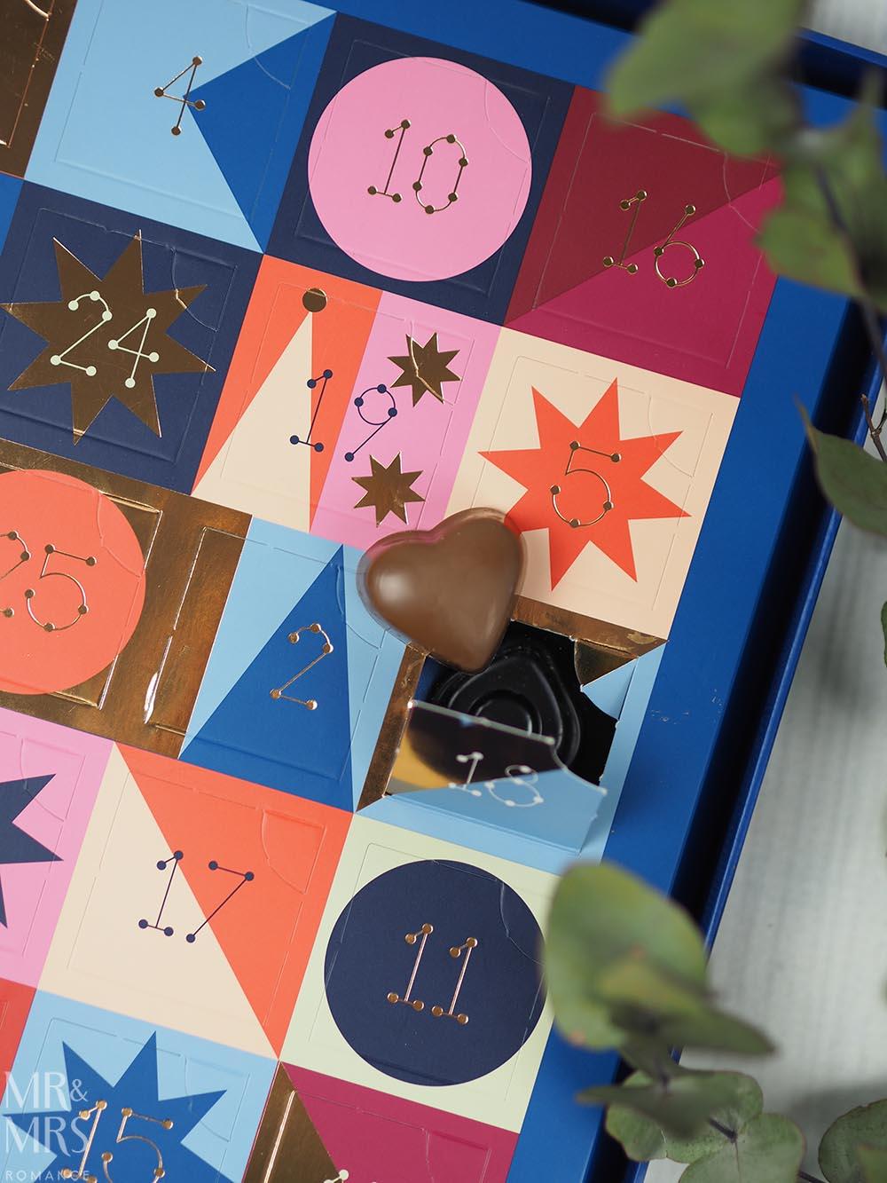 Christmas gift guide homewares and food - Koko Black Chocolate advent calendar