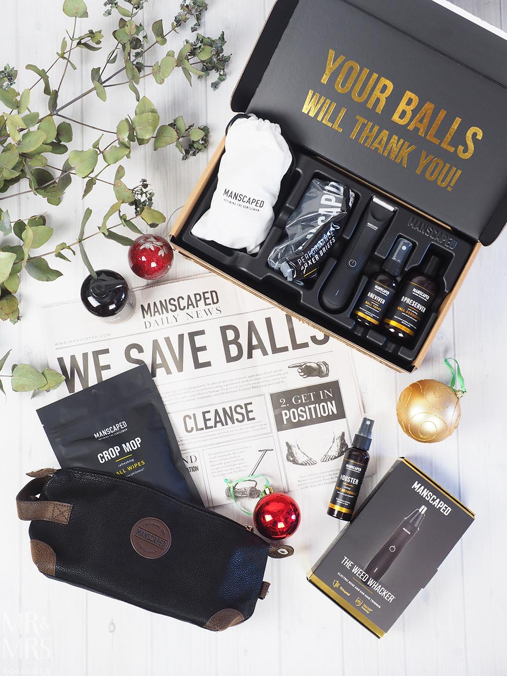 Christmas gift guide - Manscaped Performance Package