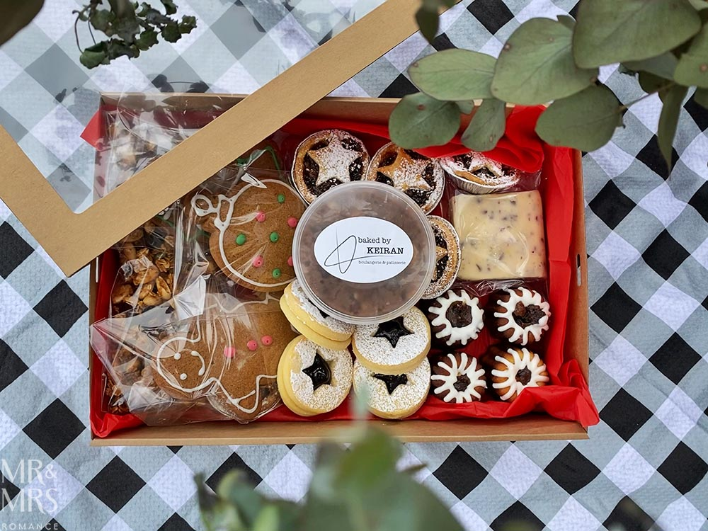 Christmas gift guide - Baked by Keiran bakery hamper