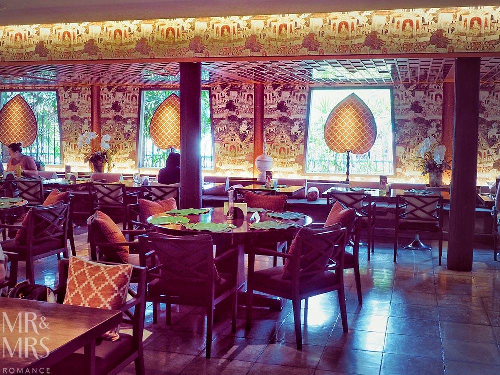 Jim Thompson House, Bangkok - inside the restaurant