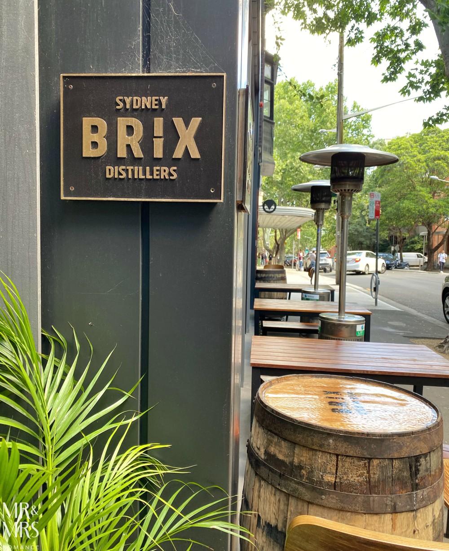 Brix Distillery cellar door, Sydney
