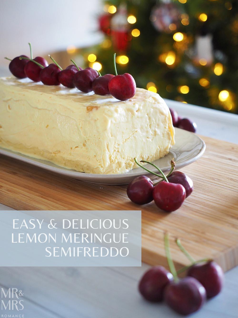 Lemon Meringue Semifreddo Recipe