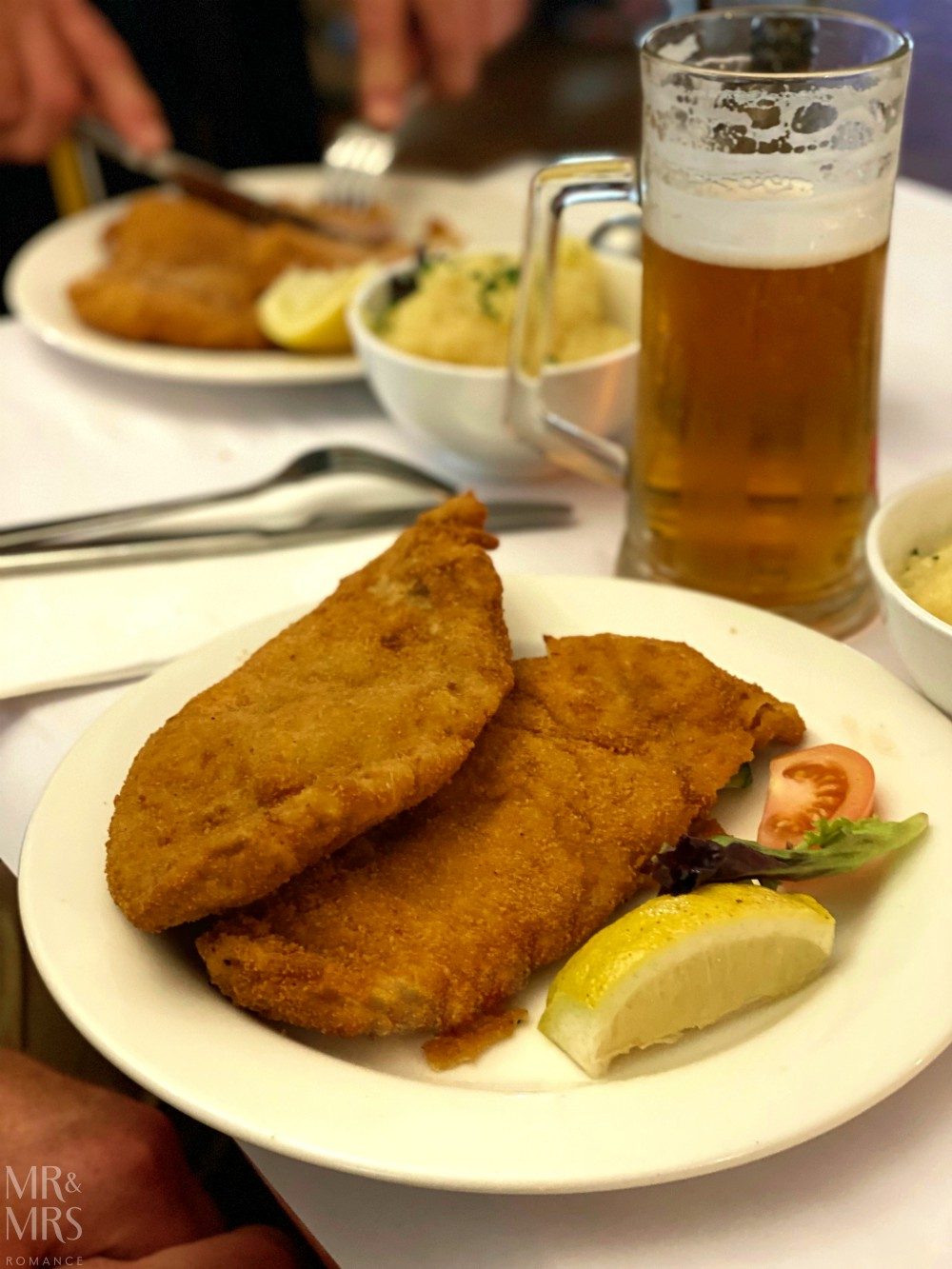 Austrian Club Frenchs Forest Sydney - wiener schnitzel
