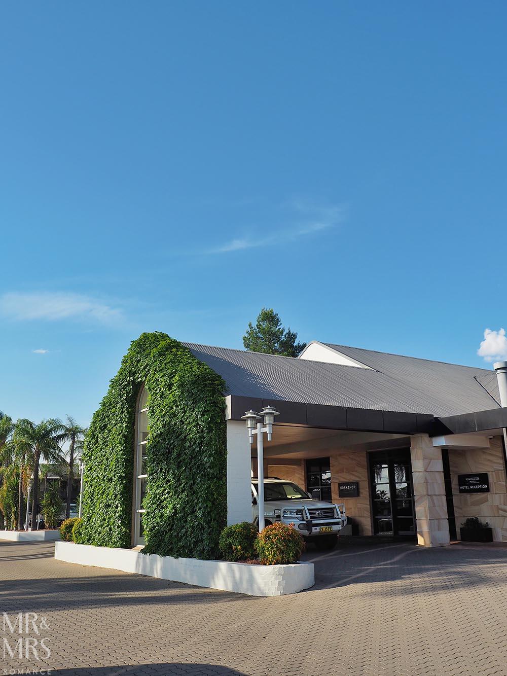 Workshop Kitchen at Powerhouse Hotel Tamworth - best steak in Australia - entrance to restaurant