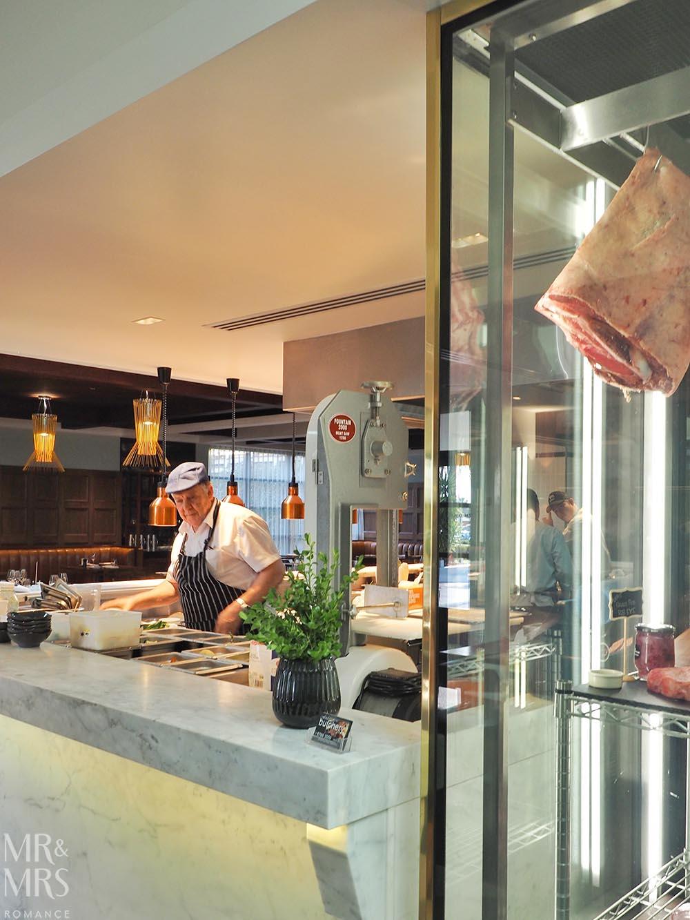 Workshop Kitchen at Powerhouse Hotel Tamworth - best steak in Australia - chef and meat