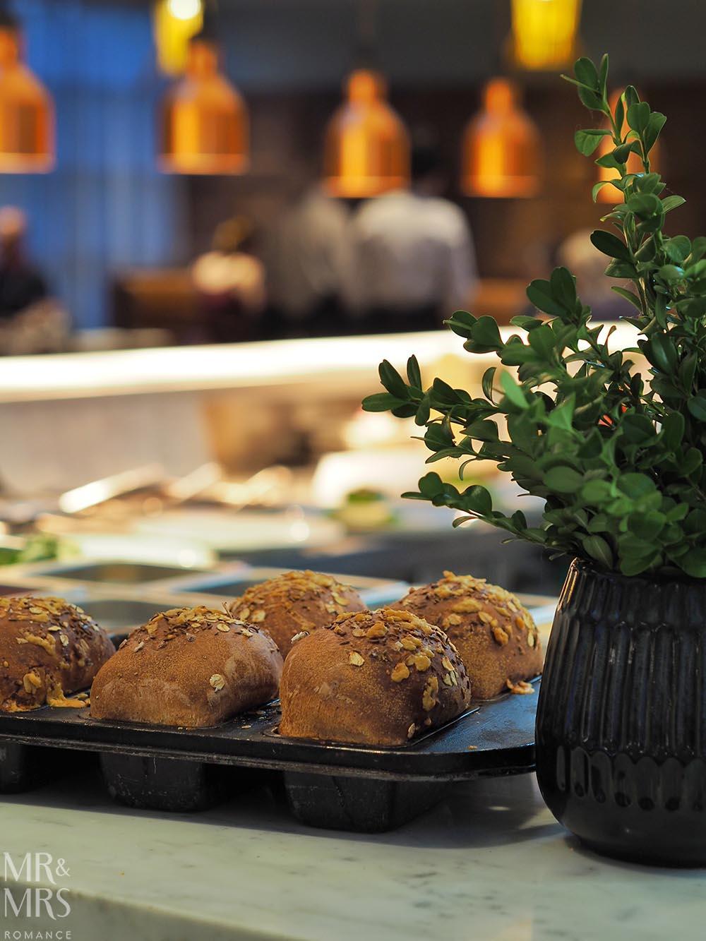 Workshop Kitchen at Powerhouse Hotel Tamworth - best steak in Australia - fresh bread