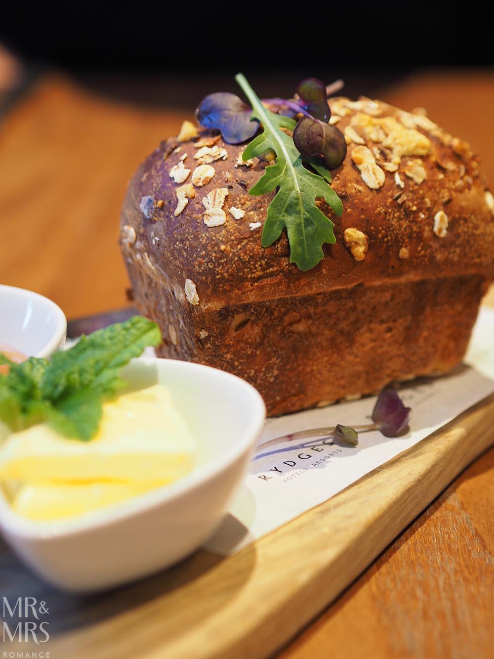 Workshop Kitchen at Powerhouse Hotel Tamworth - best steak in Australia - mini loaf