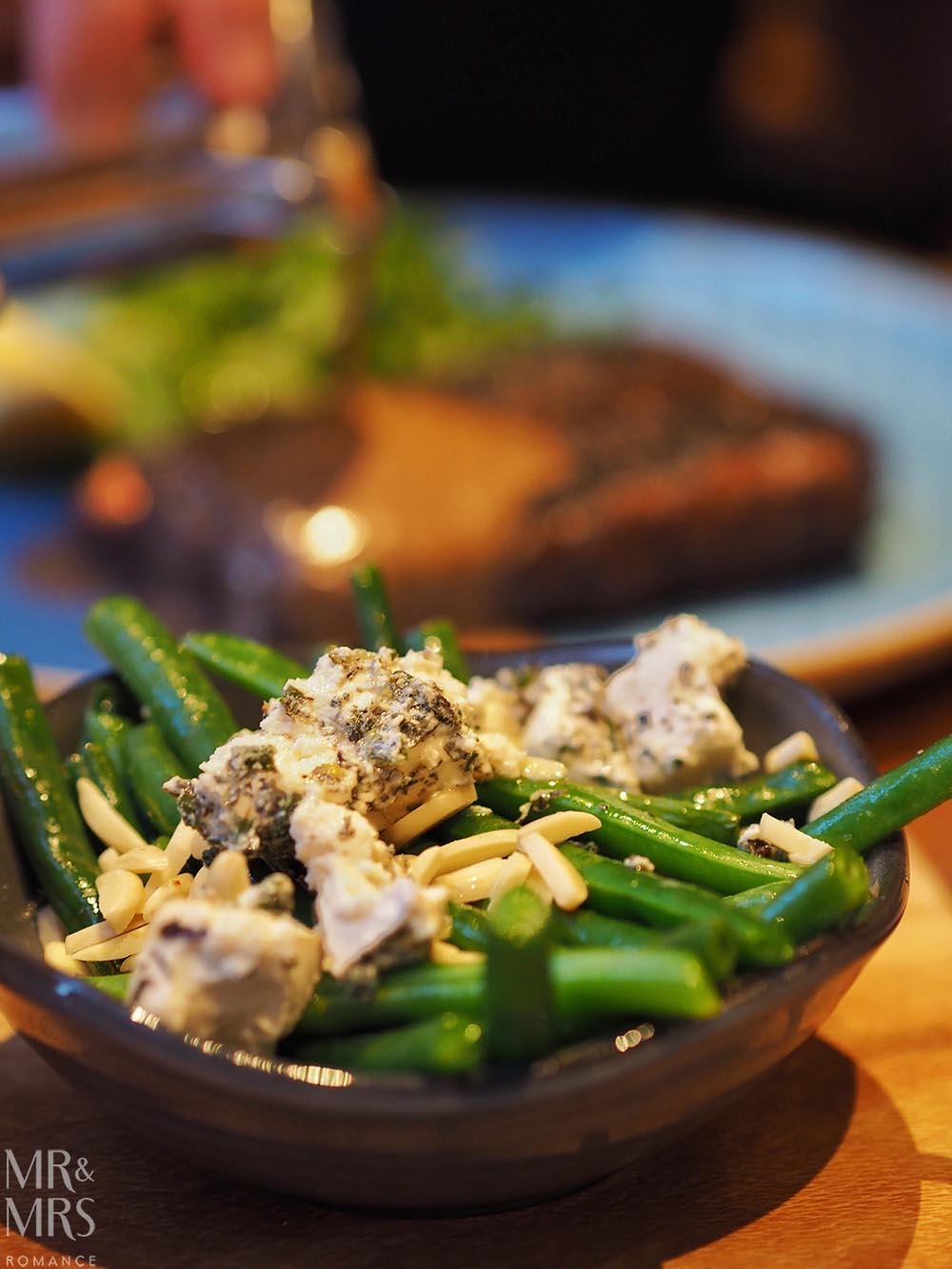 Workshop Kitchen at Powerhouse Hotel Tamworth - best steak in Australia - beans side