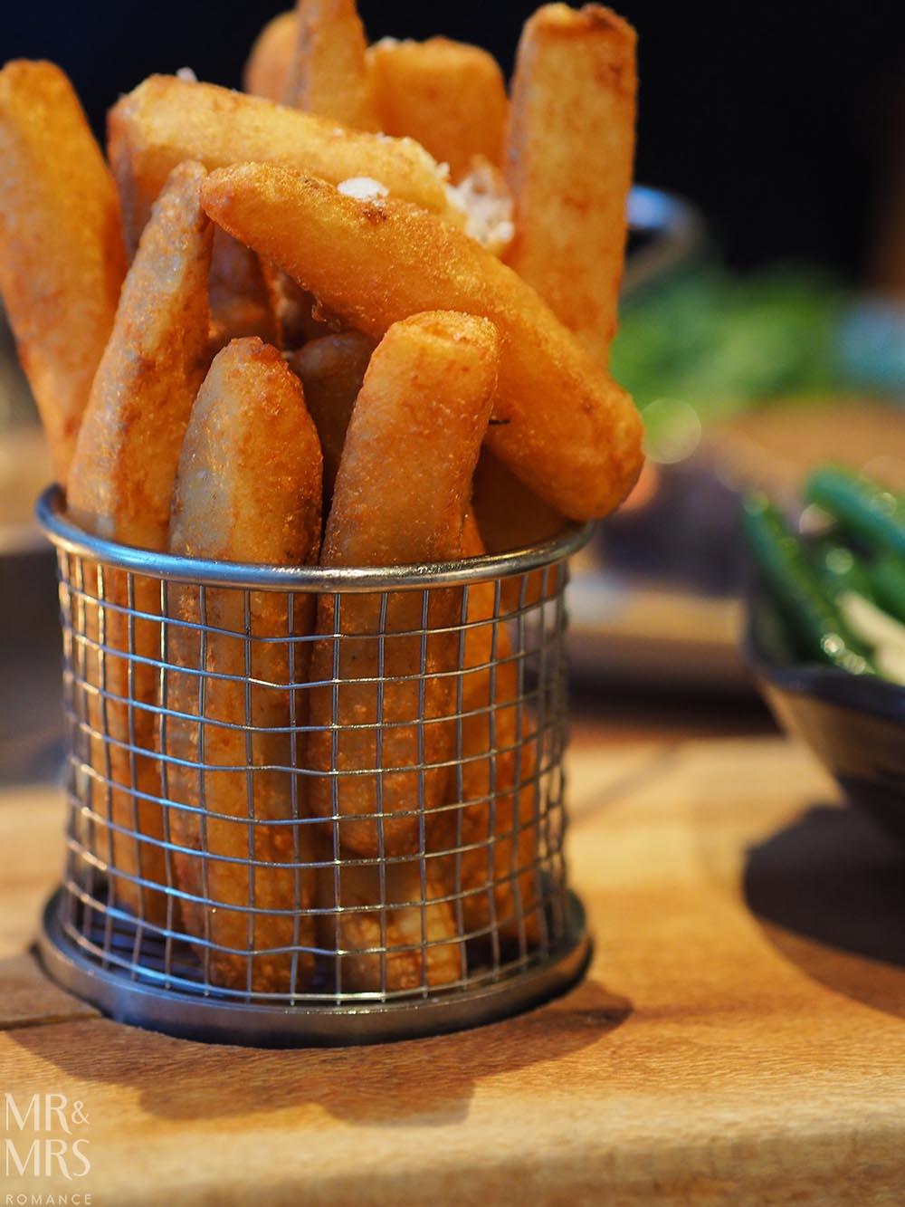 Workshop Kitchen at Powerhouse Hotel Tamworth - best steak in Australia - chips side