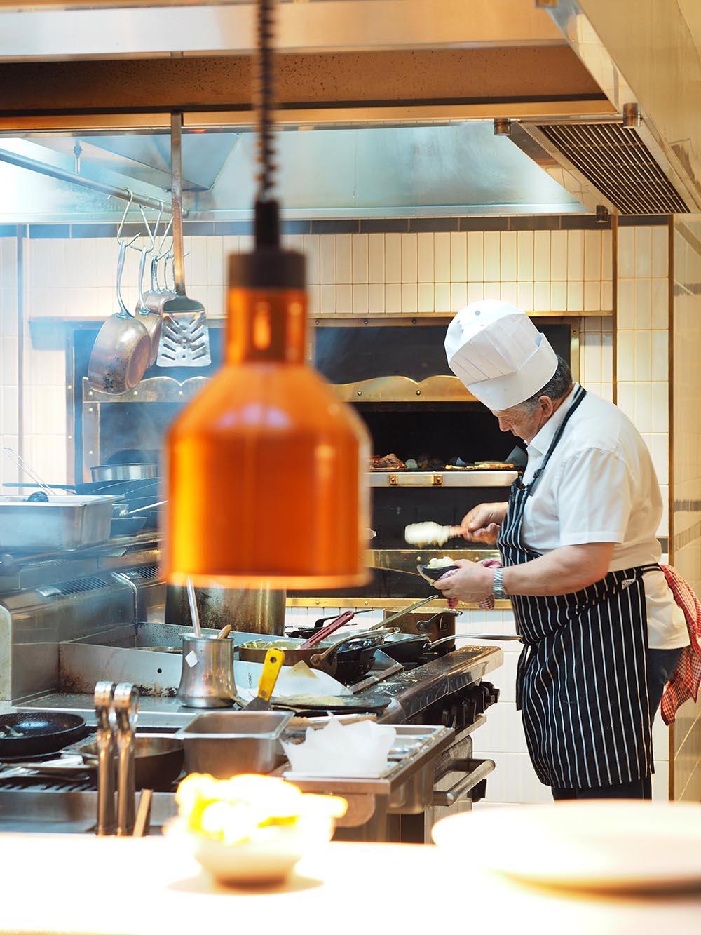 Workshop Kitchen at Powerhouse Hotel Tamworth - best steak in Australia - chef
