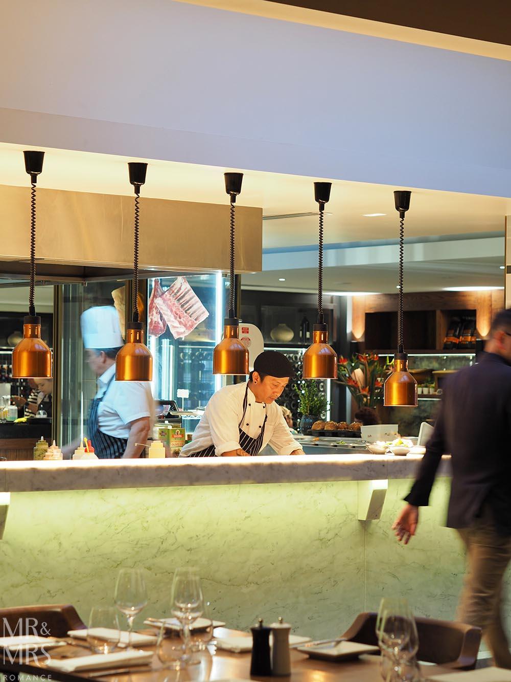 Workshop Kitchen at Powerhouse Hotel Tamworth - best steak in Australia - open kitchen