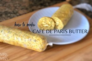Top of the Steak – how to make Cafe de Paris butter