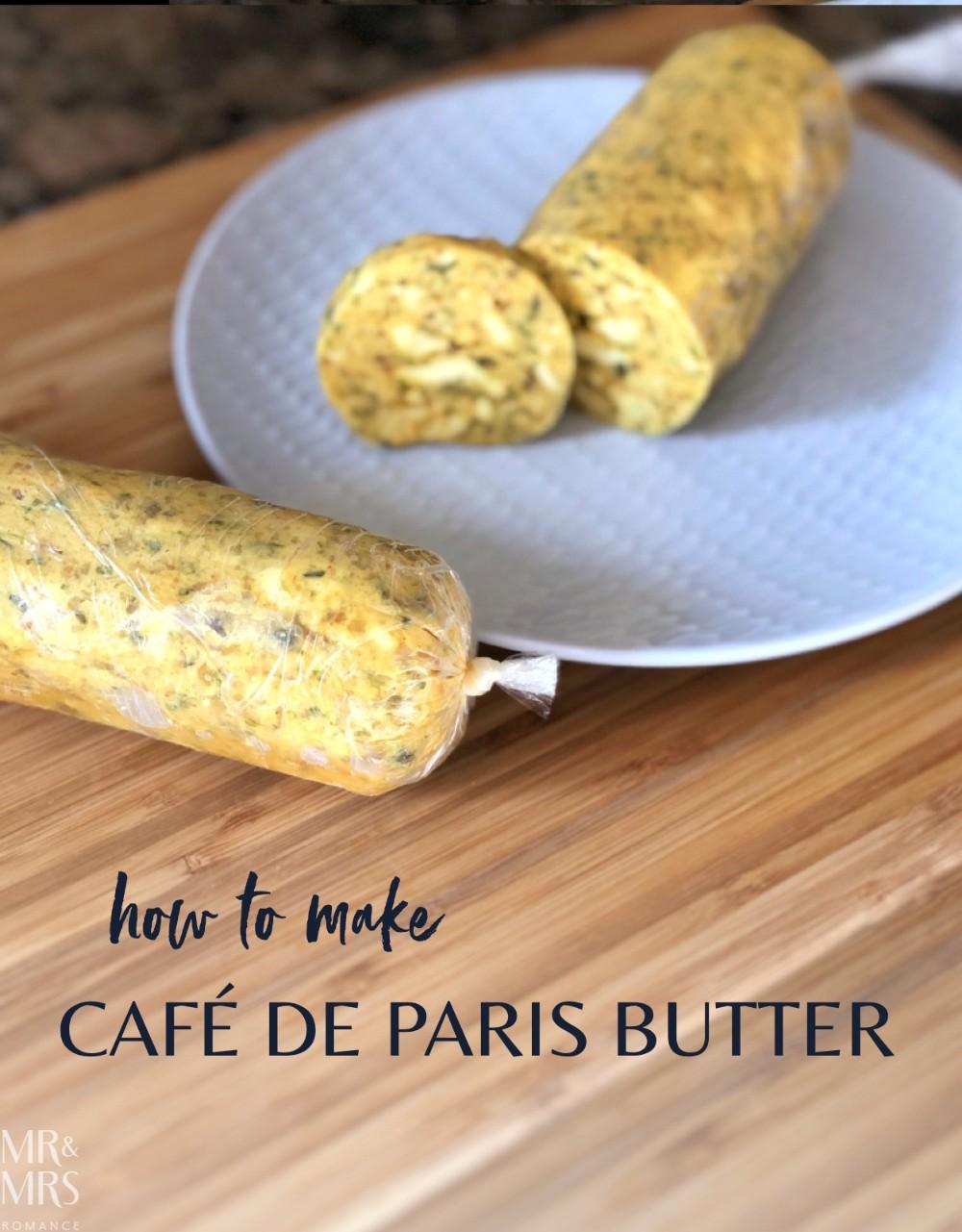 Cafe de paris butter recipe
