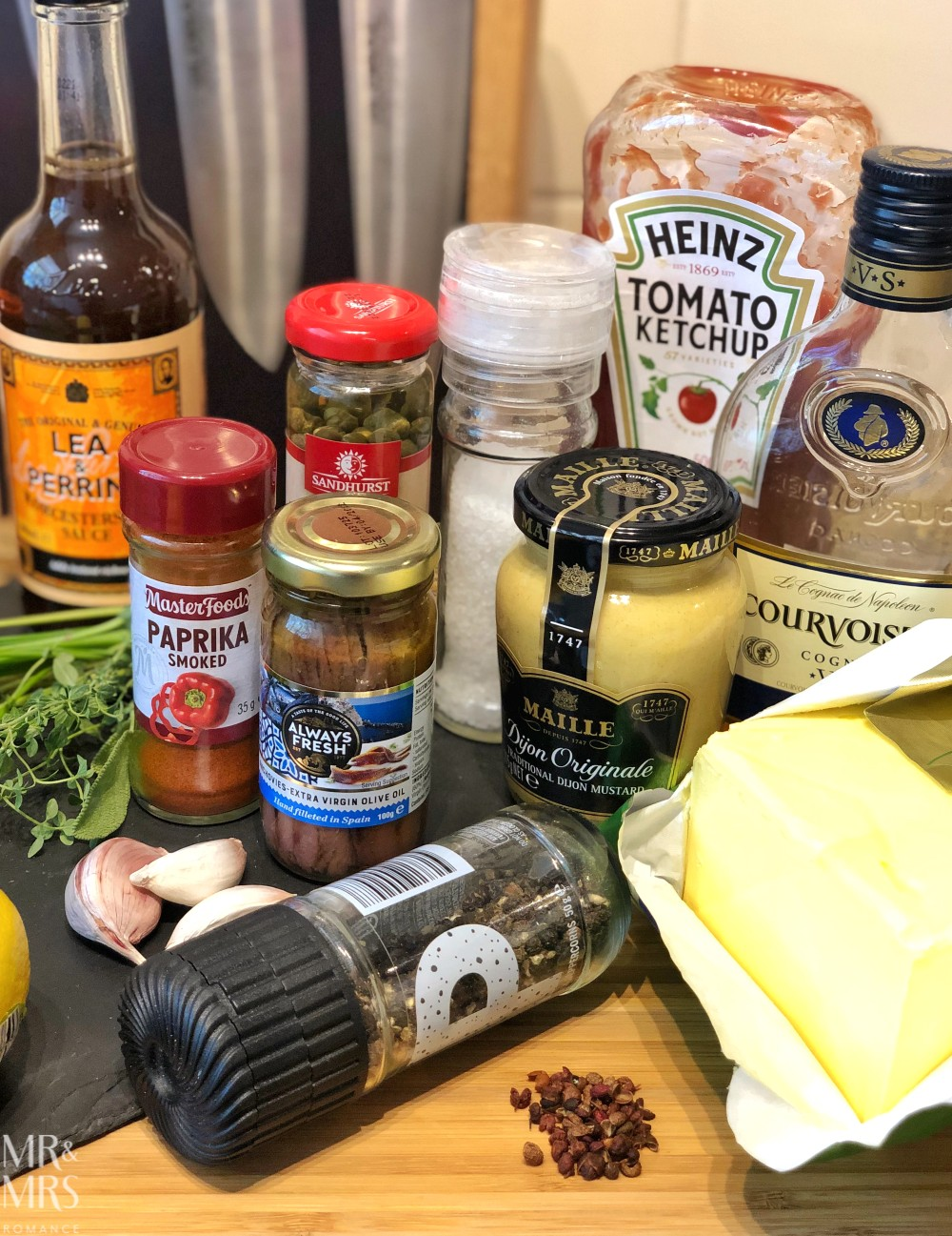 Cafe de paris butter recipe - ingredients
