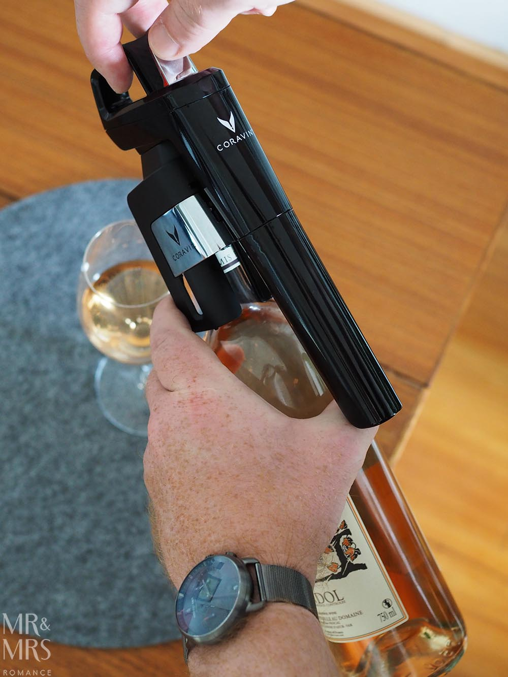 POV Coravin wine preservation system