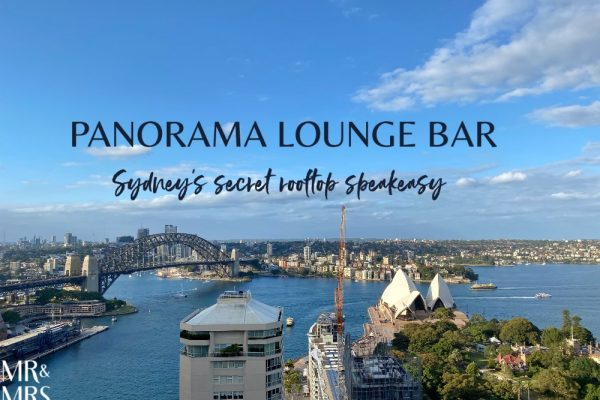 Panorama Lounge Bar InterContinental Hotel Sydney
