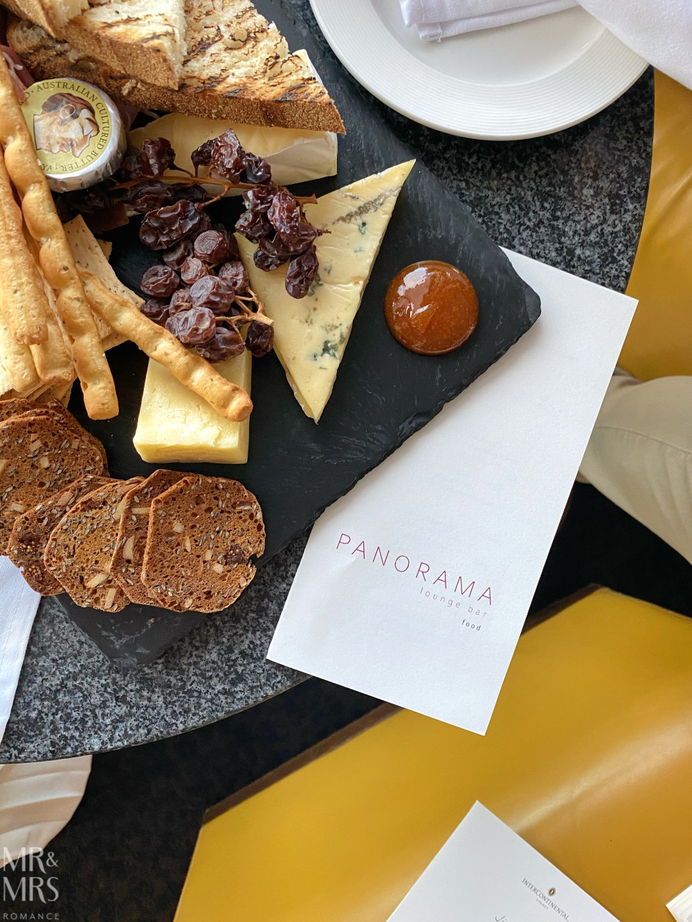 Panorama Lounge Bar InterContinental Hotel Sydney - chef's selection platter