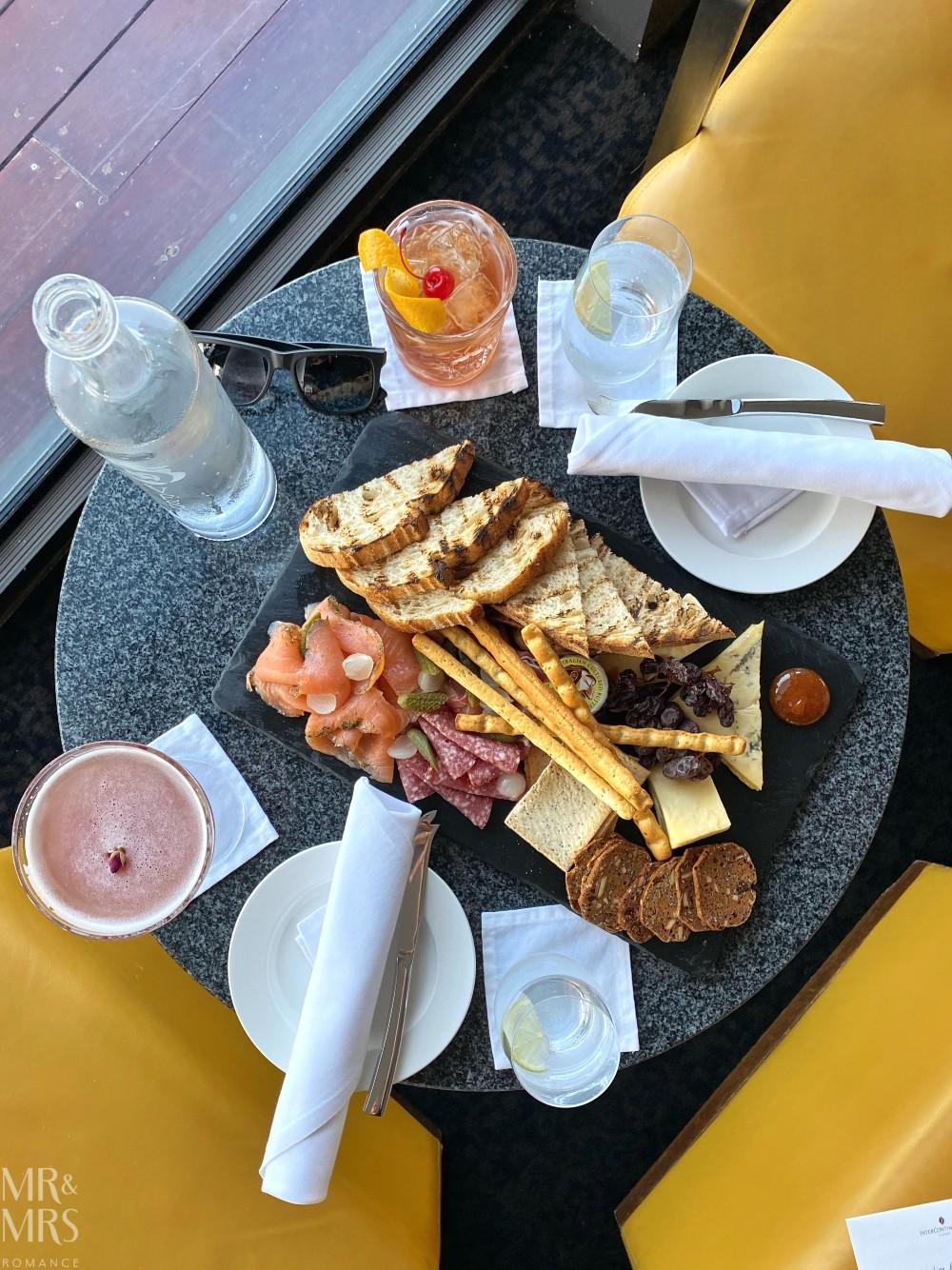 Panorama Lounge Bar InterContinental Hotel Sydney