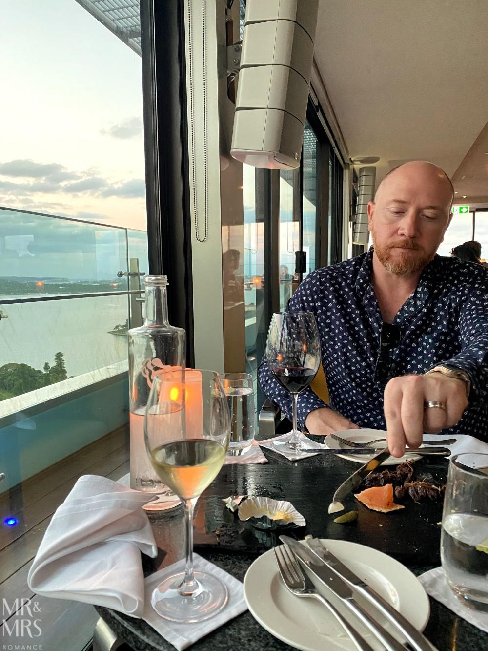 Panorama Lounge Bar InterContinental Hotel Sydney - Jim