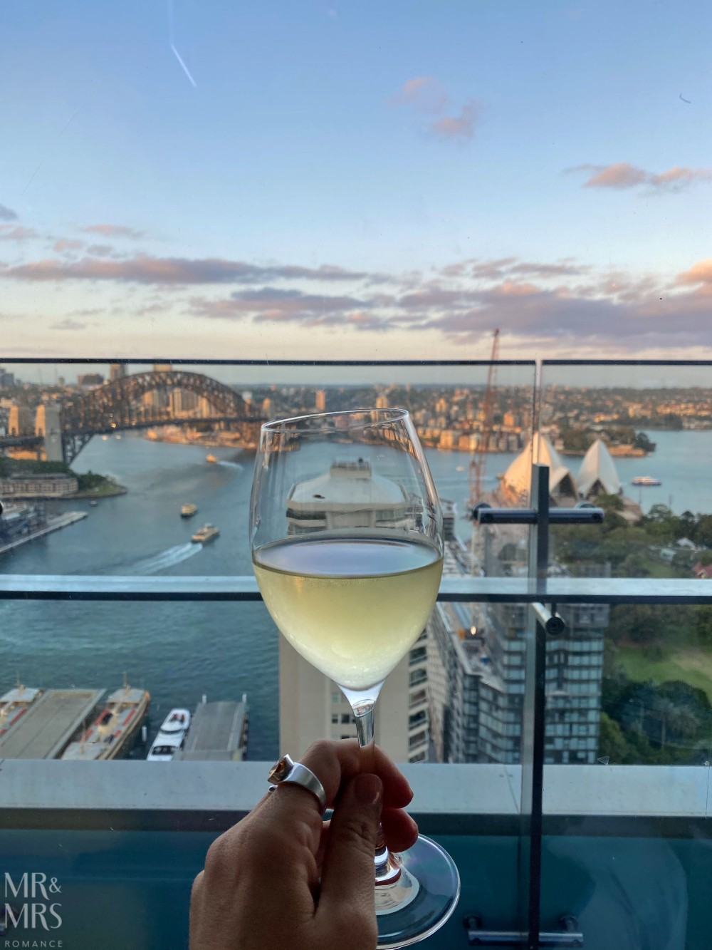 Panorama Lounge Bar InterContinental Hotel Sydney - Chardonnay