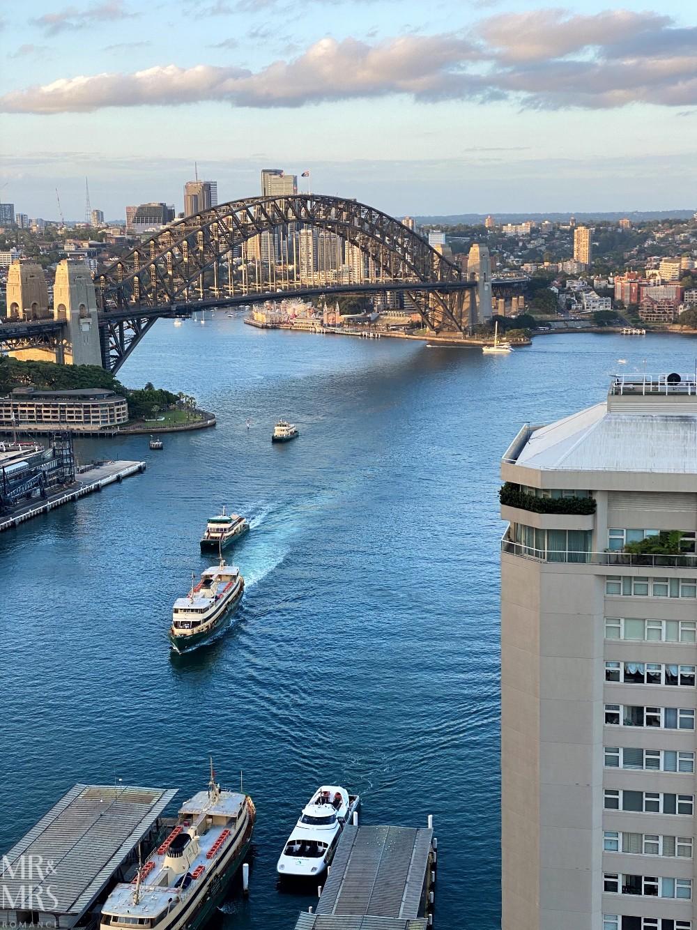 Panorama Lounge Bar InterContinental Hotel Sydney - ferries