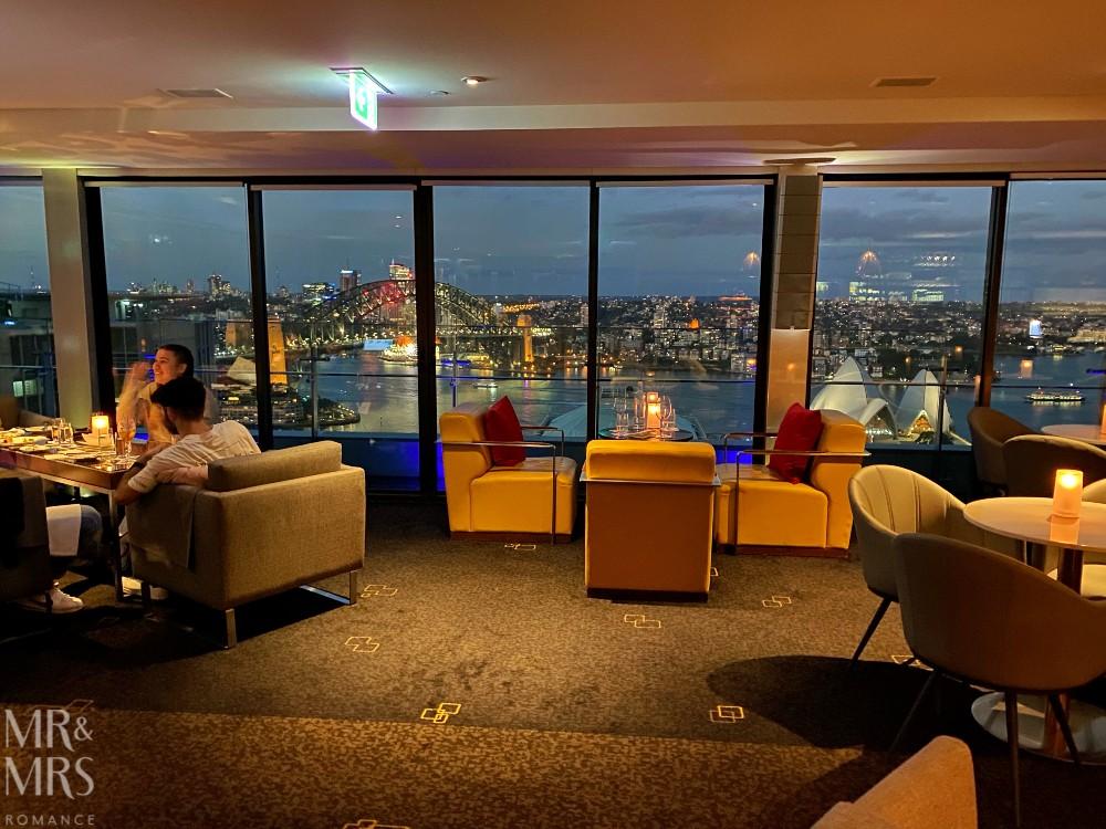 Panorama Lounge Bar InterContinental Hotel Sydney - interior