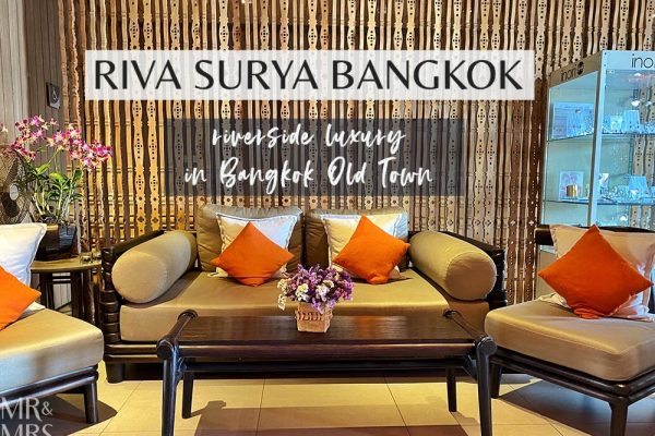 Where to stay in Bangkok Old Town - Riva Surya Hotel review