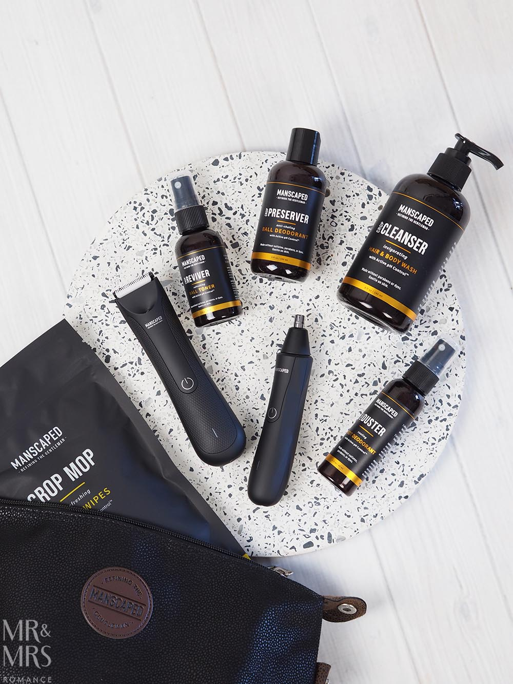 Skincare for Men - Manscaped products