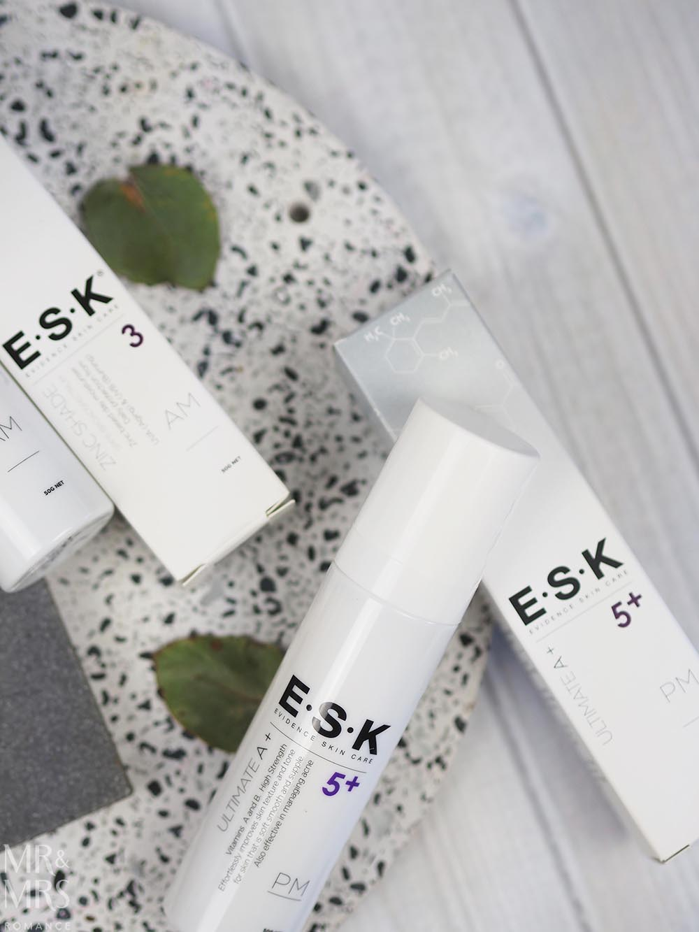 Skincare for Men - ESK products