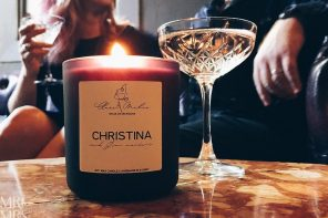How to wax romantic – the Clare Makes martini candle and Mr & Mrs Romance